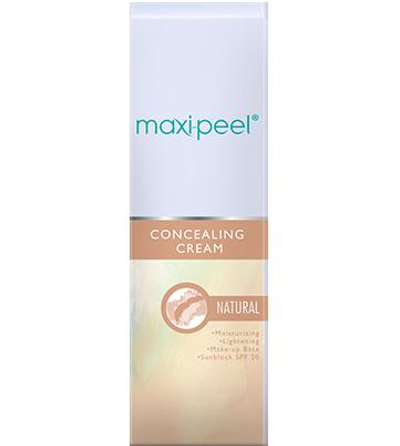 Maxi-Peel Concealing Cream Natural 25g