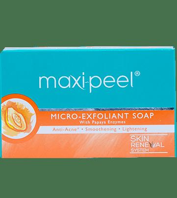 Maxi-Peel Exfoliant Soap Papaya Enzyme Box 125g