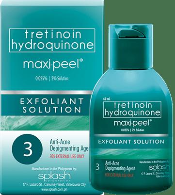 Maxi-Peel Exfoliant Solution 3 60ml